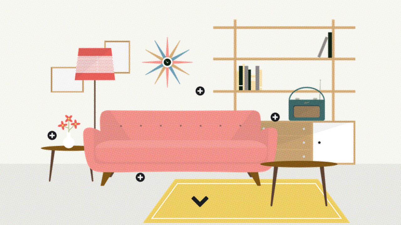 Nostalgic For Lava Lamps? An Illustrated History Of Interior Design