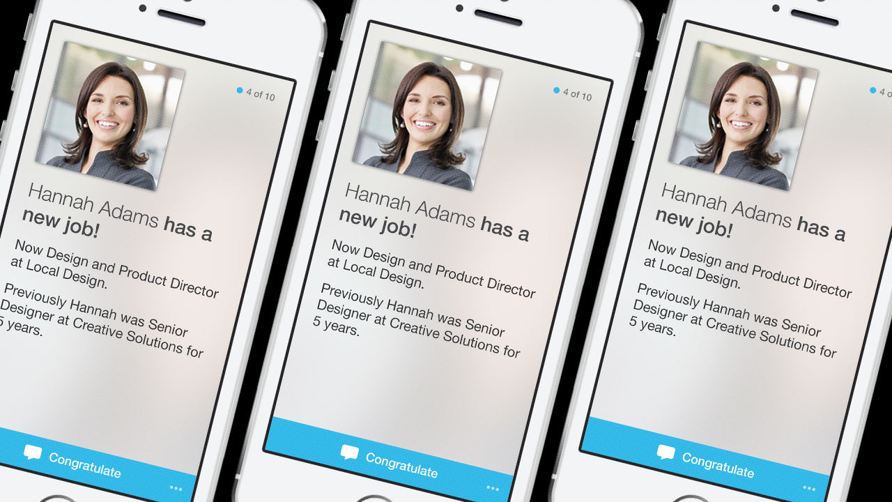LinkedIn Launches Streamlined New iPhone App