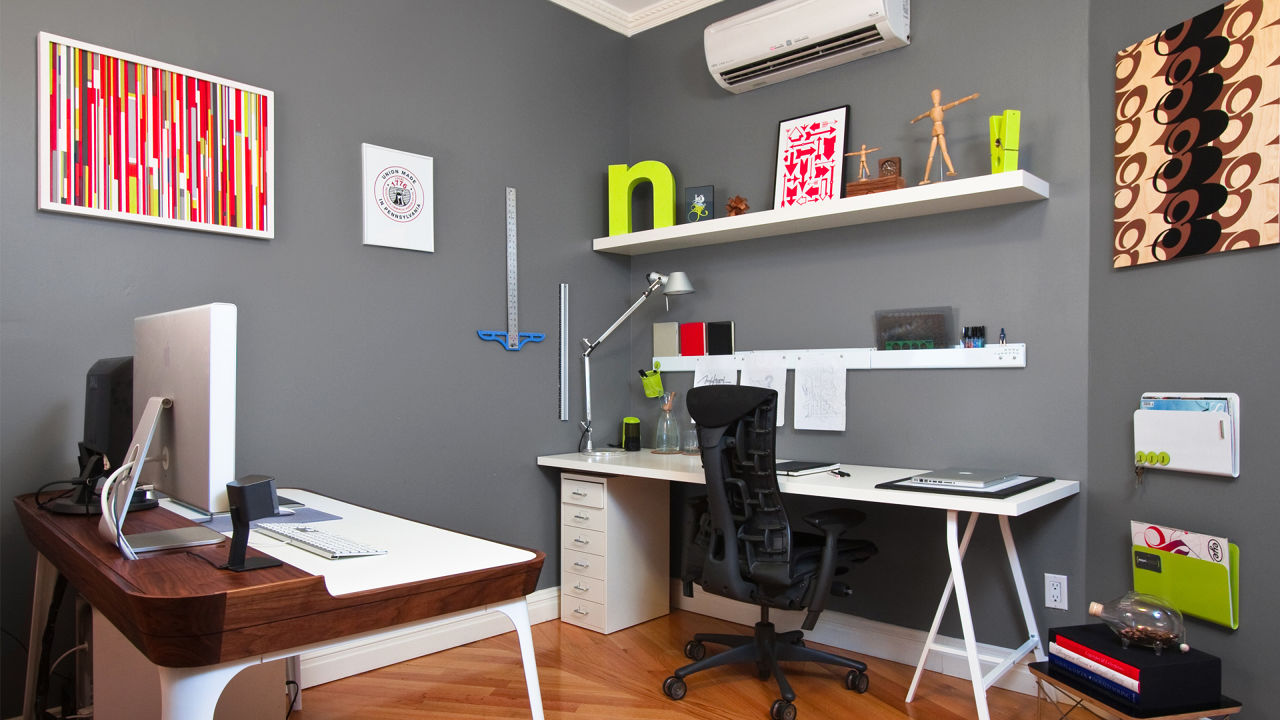 Unique  Room Design Style Ideas Home Design Decorating Small Office At Work