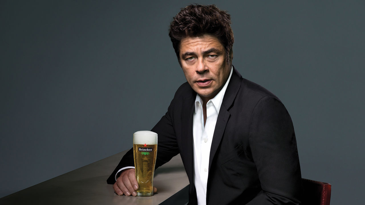 Benicio Del Toro Is Not Antonio Banderas In This New Heineken Ad | Co ...