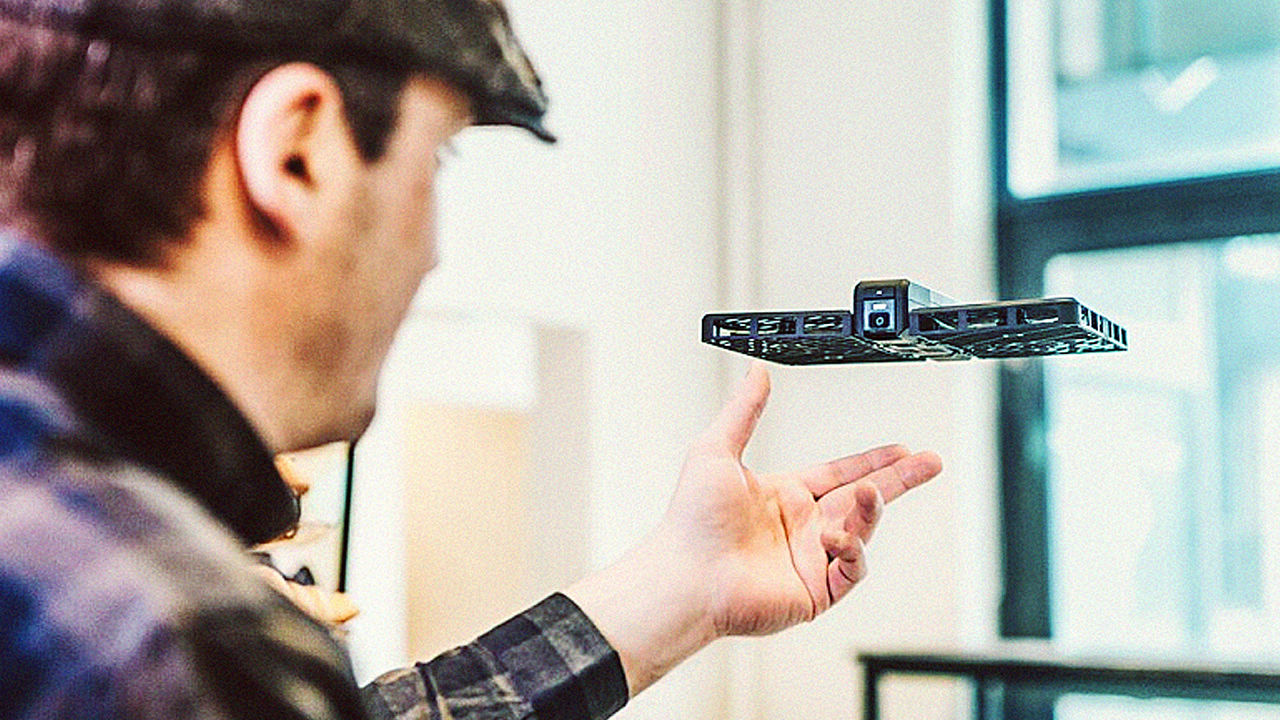 Introducing Hover, An AI-Powered Indoor-Safe Camera Drone
