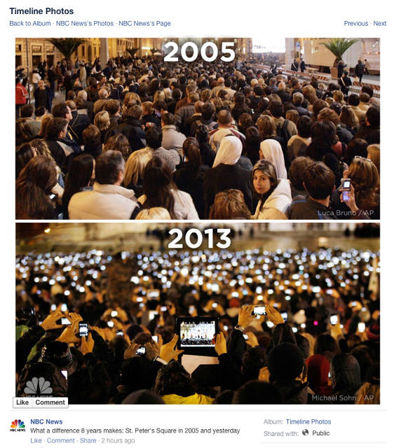 How Technology Has Changed The Selection Of A New Pope