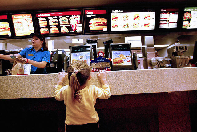 should fast food restaurants be banned essay Let's ban food and beverage ads boys who frequented fast-food restaurants consumed more than 800 extra calories weekly first-person essays.
