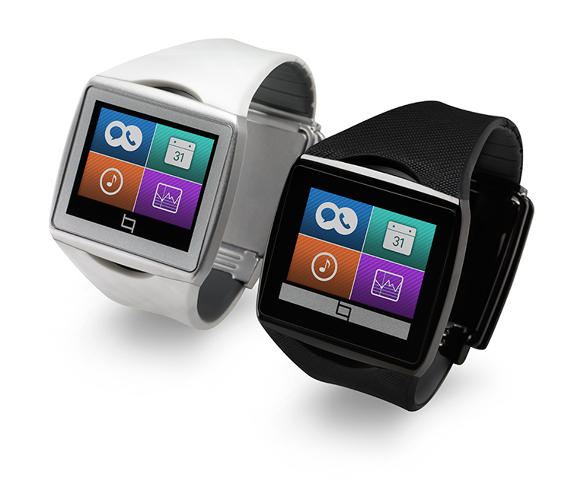<p>The Qualcomm Toq is a second screen for your phone.</p>