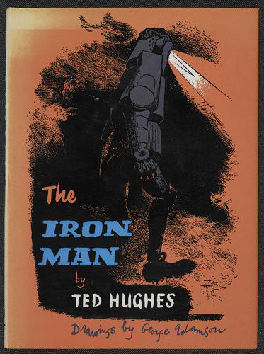 <p>The final cover for <em>The Iron Man</em> by Ted Hughes.</p>