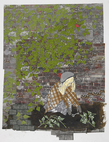 <p>A sour Mary explores <em>The Secret Garden</em> in what Eve calls a &quot;beautifully poised composition in muted colors.&quot;</p>