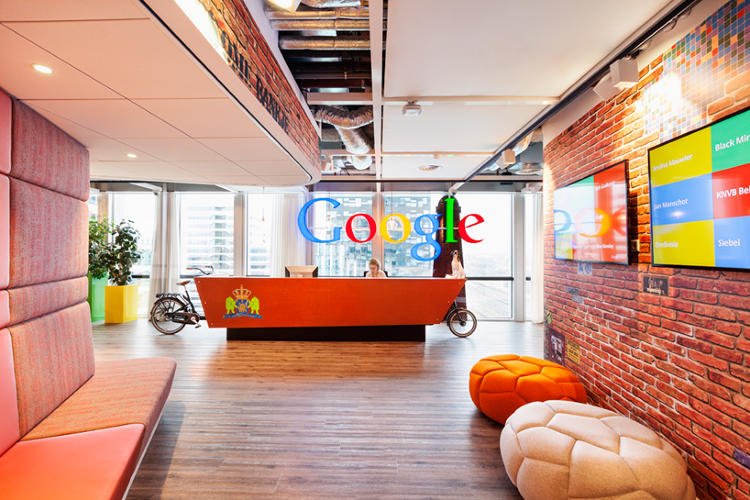 <p>Google's offices tend to draw inspiration from the city they're in, like a Stanford-like campus for its California headquarters and a loft space for the Chelsea offices in New York.</p>