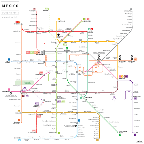 <p>These are subway maps by Jug Cerovic.</p>