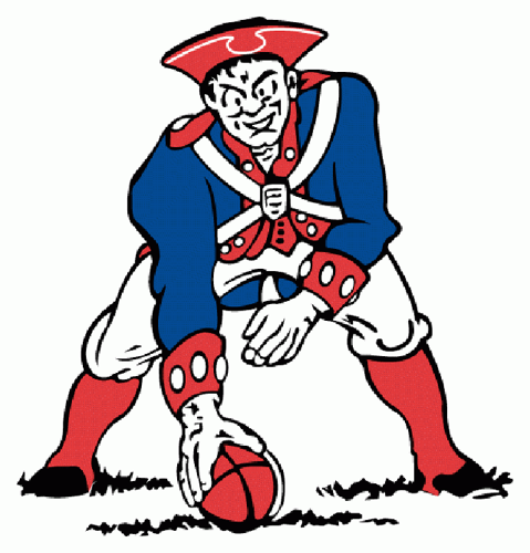 <p>From 1961, Phil Bissell's logo for the original Pat Patriot was purchased for $100.</p>