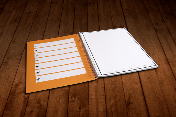 Business Notebook Paper Paper Notebook And Pen
