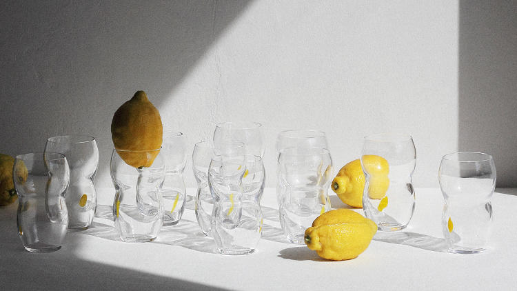 "<p>British designer Max Lamb's most recent project is a <a href=""https://www.makersandbrothers.com/shop/lemonade-glass#.VzqLTWY2yt8"" target=""_blank"">lemonade glass</a> for the Irish retailer Makers & Brothers.</p>"