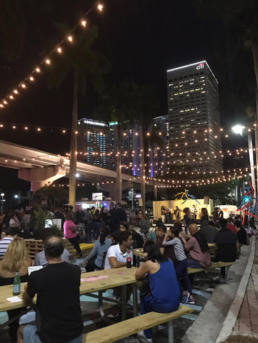 <p>The city wants to build support for a much larger project called Biscayne Green.</p>